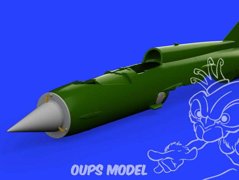 Eduard kit d'amelioration brassin 672218 MiG-21 F.O.D. Eduard 1/72