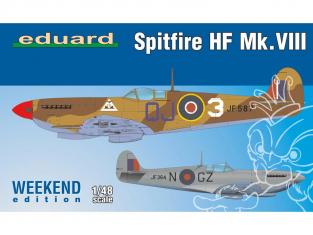 EDUARD maquette avion 84132 Spitfire HF Mk.VIII WeekEnd Edition 1/48