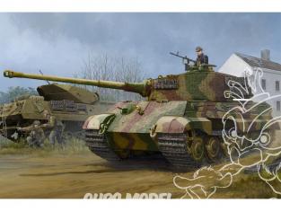 Hobby Boss maquette militaire 84531 Sd.Kfz.182 KÖNIGSTIGER TOURELLE HENSCHEL (1944 Prod.) avec Zimmerit 1/35