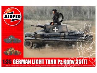 Airfix maquette militaire A1362 Char léger allemand Pz.Kpfw.35 (t) 1/35