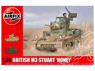 Airfix maquette militaire A1358 M3 Stuart Honey version britannique 1/35