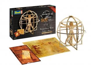 Revell kit en bois 00519 les idées de léonard homme Vitruve