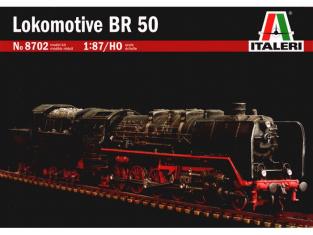 ITALERI maquette loco 8702 LOCOMOTIVE BR50 1/87