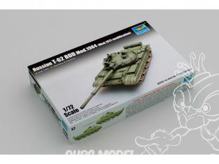 TRUMPETER maquette militaire 07148 T-62 BDD Mod. 1984 (Mod. 1972 modification) CHAR DE BATAILLE SOVIÉTIQUE 1986 1/72