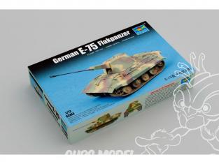 TRUMPETER maquette militaire 07126 E-75 FLAKPANZER ALLEMAND 1945 1/72