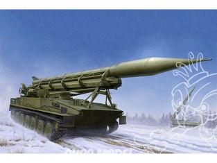 TRUMPETER maquette militaire 09545 2P16 LANCEUR avec MISSILE 3R10 type 2k6 Luna (FROG-5) 1968 1/35