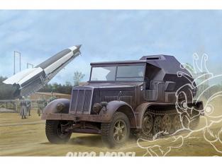 TRUMPETER maquette militaire 09537 Sd.Kfz.7/3 TRACTEUR D'ARTILLERIE SEMI-CHENILLE VERSION OBSERVATION 1944 1/35