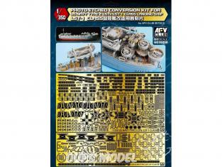 AFV maquette bateau AG35050 Conversion kit en photodecoupe pour LST-1 1/350