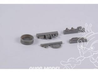 Cmk kit d'amelioration 4365 Tourelle d'armes B et P Defiant pour kit Airfix 1/48