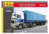 Heller maquette camion 81703 Volvo F12-20 Globetrotter et Remorque à deux essieux 1/32