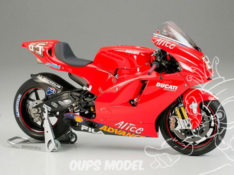 tamiya maquette moto 14101 ducati desmosedici 1/12