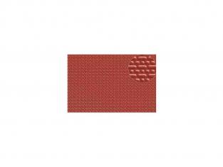 Slaters 402 Feuille de polystyrène immitation brique rouge anglaise 2mm