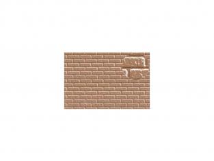 Slaters 406 Feuille de polystyrène imitation brique beige 7mm