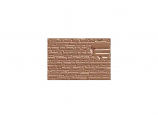 Slaters 419 Feuille de polystyrène imitation cours de pierre beige 2mm et 4mm