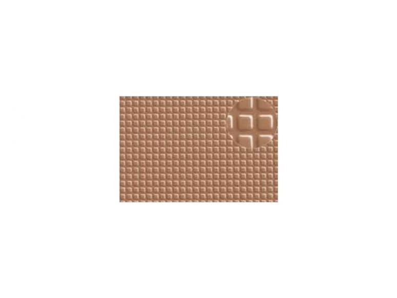 Slaters 417 Feuille de polystyrène imitation pavés de granit beige 4mm.