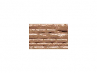 Slaters 411 Feuille de polystyrène imitation pierre de cotswold beige 7mm