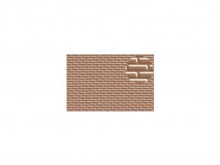 Slaters 403 Feuille de polystyrène imitation brique beige 4mm