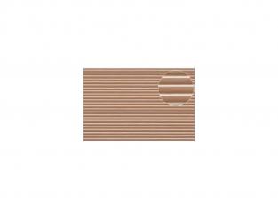 Slaters 432 Feuille de polystyrène imitation planches espacées beige 1mm