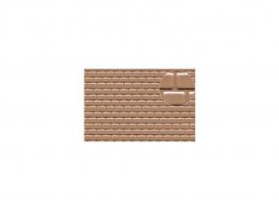 Slaters 443 Feuille de polystyrène imitation tuile de toiture beige 3mm