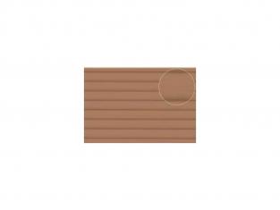 Slaters 452 Feuille de polystyrène imitation bardage bois beige