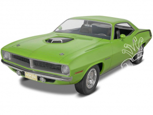 Revell US maquette voiture 4268 1970 Plymouth Hemi Cuda 2in1 1/25