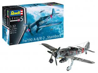 "Revell maquette avion 03874 Fw190 A-8 ""Sturmbock"" 1/32"