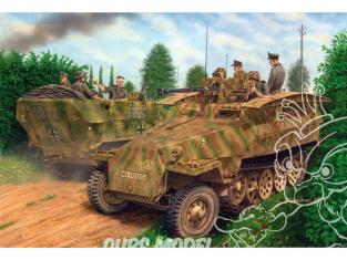 Dragon maquette militaire 7605 Sd.Kfz.251/7 Ausf.D Pionierpanzerwagen (2 in 1) 1/72