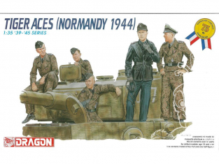 dragon maquette militaire 6028 TIGER ACES NORMANDY 1944 1/35