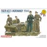 dragon maquette militaire 6028 TIGER ACES NORMANDY 1944 1/35