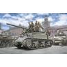 Italeri maquette miltaire 6568 M4A1 SHERMAN avec l'infanterie américaine 1/35