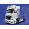 Italeri maquette camion 3935 Mercedes-Benz ACTROS MP4 Giga Space 1/24