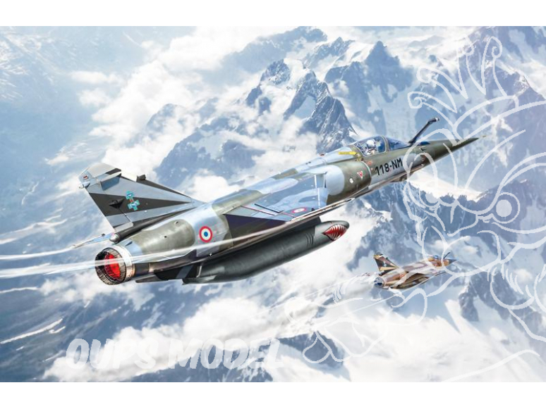 Italeri maquette avion 2790 BYE-BYE MIRAGE F1 1/48