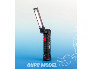 LightCraft LC7000 Lampe de travail LED magnétique