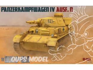 IBG maquette militaire w-009 The World of War Panzerkampfwagen IV Ausf.D 1/76