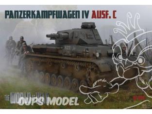 IBG maquette militaire w-010 The World of War Panzerkampfwagen IV Ausf.C 1/76
