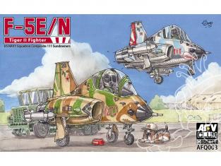 AFV CLUB maquette avion Q003 Q-SCALE F-5E Fighter Squadron 111