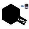 Peinture laque couleur Tamiya LP-65 Noir Caoutchouc 10ml