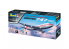 Revell maquette model set avion 05686 Boeing 747-100, 50th Anniversary 1/144