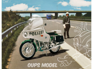 Revell maquette moto 07940 BMW R75/5 Police 1/8