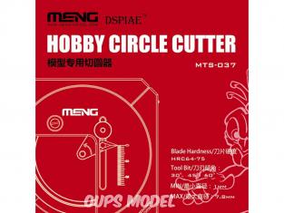 MENG MTS-037 Obtenez un cercle parfait en une fois Cutter circulaire