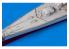 Eduard photodecoupe bateau 53242 Rambardes DKM Blucher Trumpeter 1/350