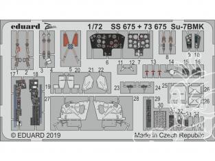 Eduard photodecoupe avion SS675 Zoom Amélioration Sukhoi Su-7BMK Modelsvit 1/72