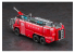 Hasegawa maquette camion 54005 Rosenbauer Panther 6 x 6 Airport Chemical Fire Engine 1/72