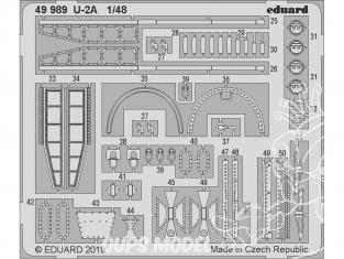 EDUARD photodecoupe avion 49989 Amélioration U-2A Afv Club 1/48