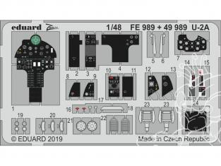 EDUARD photodecoupe avion FE989 Zoom Amélioration U-2A Afv Club 1/48