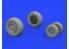 Eduard kit d'amelioration brassin 632136 Roues F/A-18E Revell 1/32