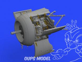 Eduard kit d'amelioration avion brassin 648482 Focke Wulf Fw 190A-8/R2 Moteur Eduard 1/48