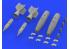 Eduard kit d'amelioration avion brassin 648475 PAVE Way I Mk.83 Hi Speed LGB Protégé thermiquement 1/48
