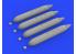 Eduard kit d'amelioration avion brassin 648477 SUU-7 Dispenser 1/48