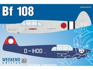EDUARD maquette avion 8479 Messerschmitt Bf 108 WeekEnd Edition 1/48